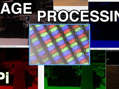Image Processing With the Raspberry Pi: Using OpenCV