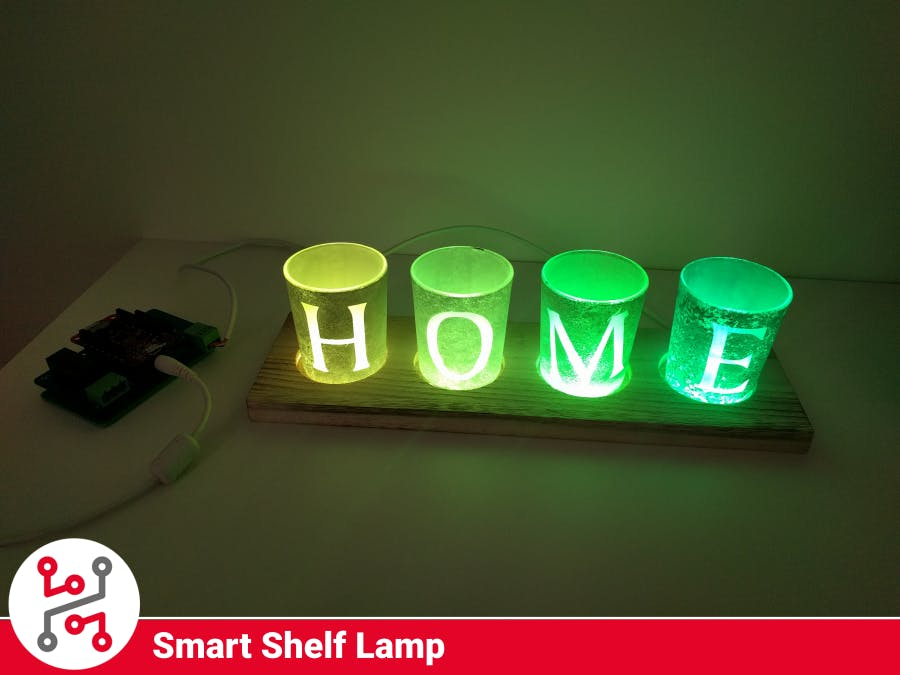 Cozy Home Lamp with HARDWARIO IoT Kit