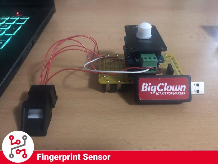 HARDWARIO IoT Kit Fingerprint Sensor