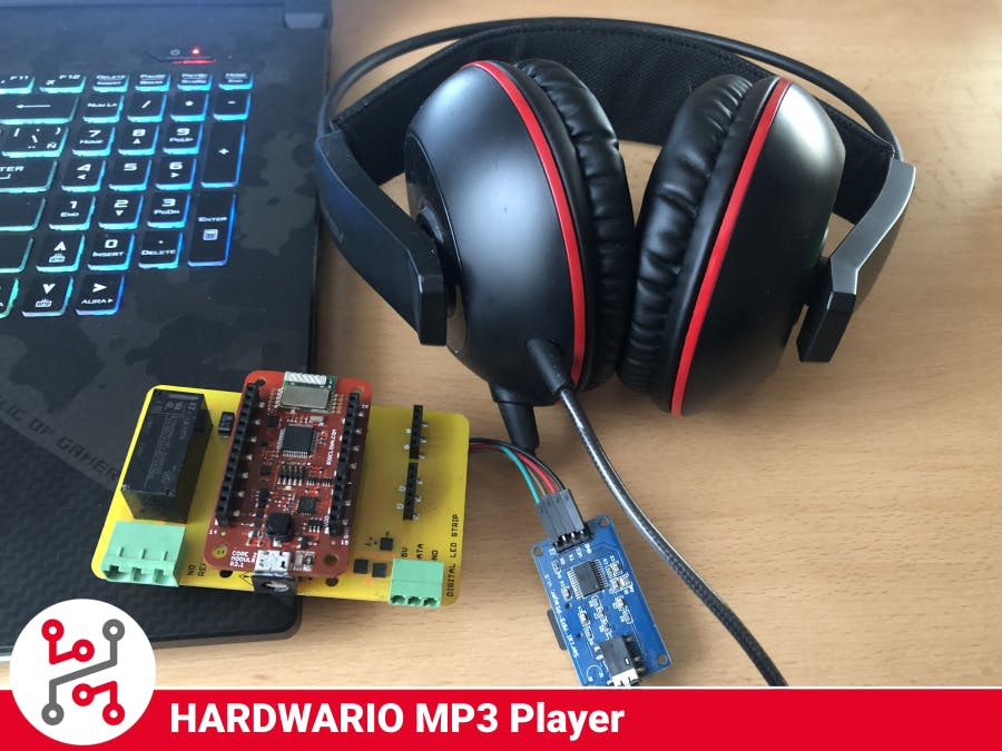 Smart Wireless HARDWARIO IoT Kit MP3 Player