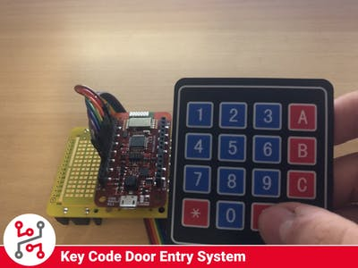 Key Code Door Entry System with HARDWARIO IoT Kit