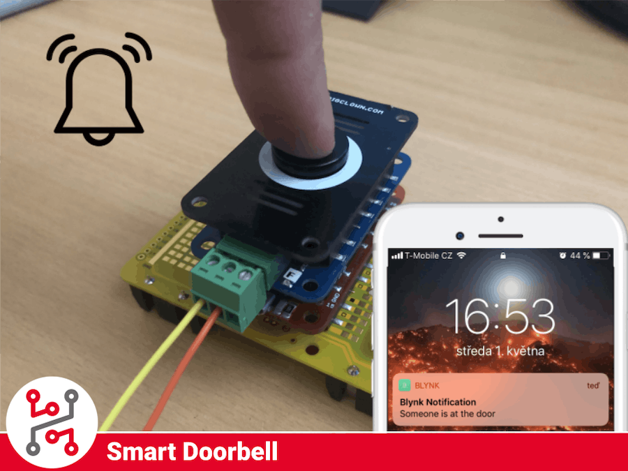 HARDWARIO IoT Kit Smart Doorbell