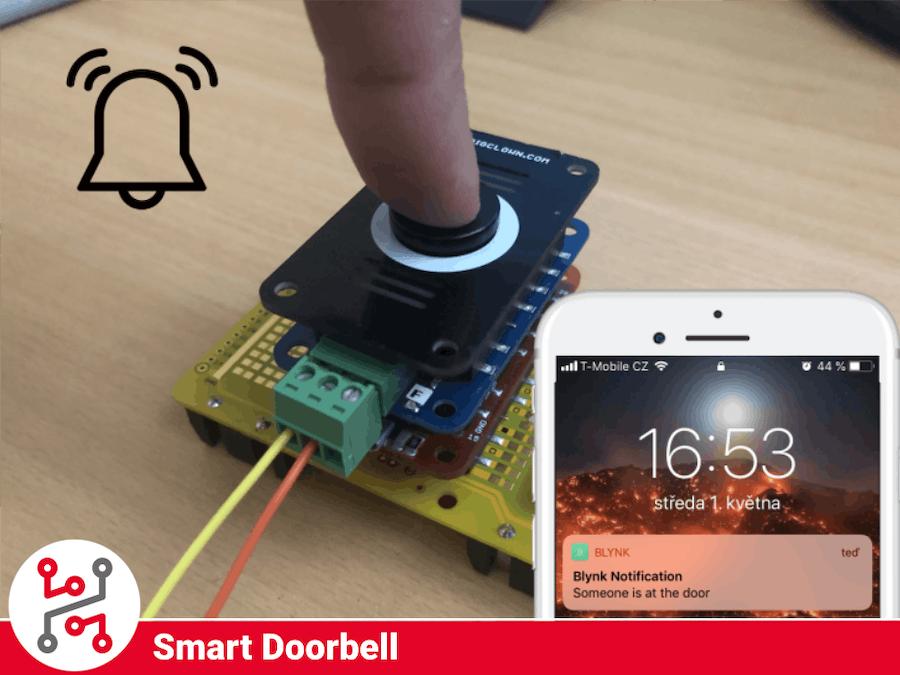 HARDWARIO IoT Kit Smart Doorbell