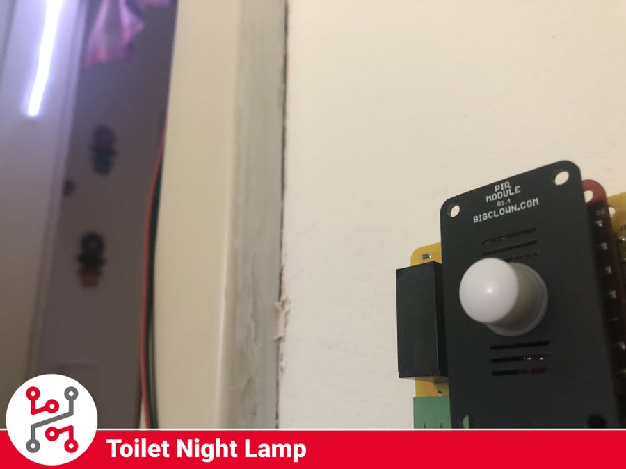 HARDWARIO IoT Kit Night Lamp