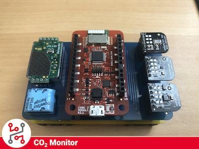 Radio CO2 Monitor