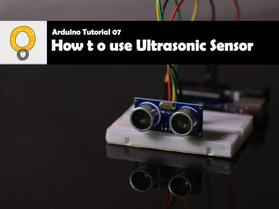 Using Ultrasonic Sensor