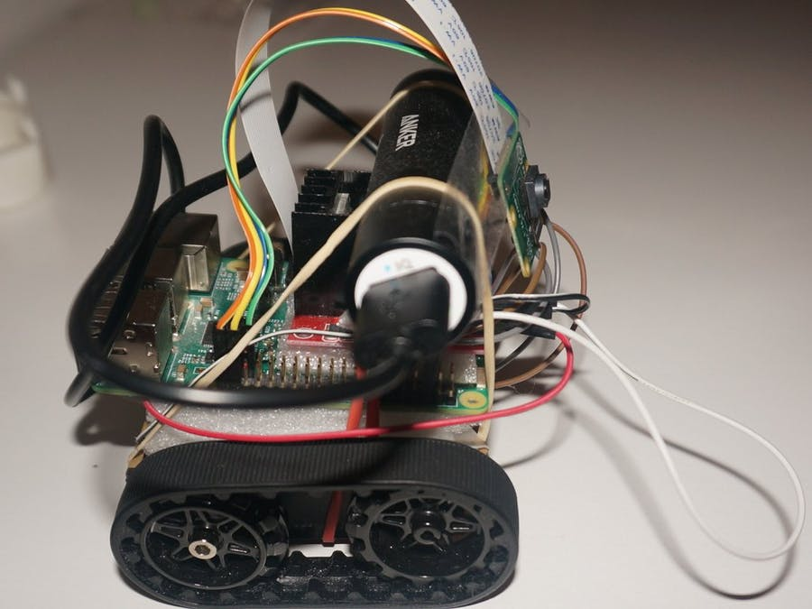 IoT Rover (Toy Car) via Raspberry Pi