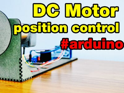 DC Motor Position Control