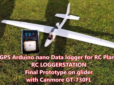 RC LOGGERSTATION - GPS Data Logger for RC Plane