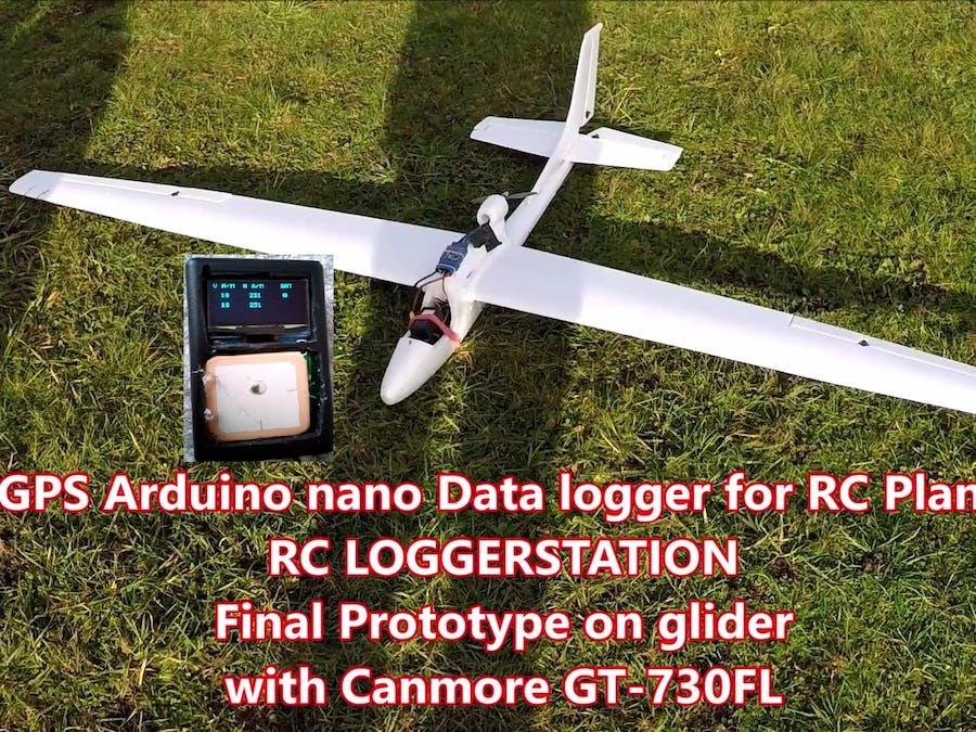 RC LOGGERSTATION - GPS Data Logger for RC Plane