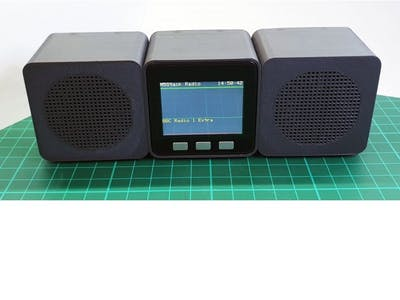 M5Stack Web Radio
