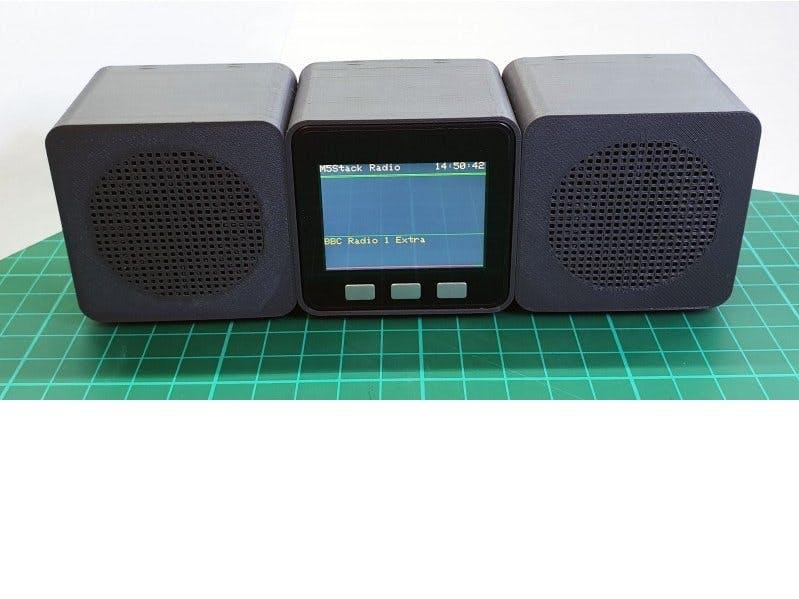 M5Stack Web Radio