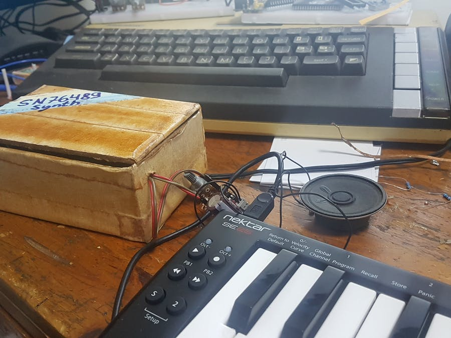 Let's Build an SN76489 USB MIDI Synth With Arduino Nano