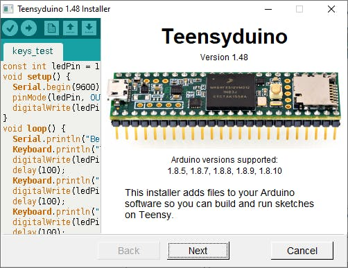 Note the versions of Arduino that it is compatible with.....