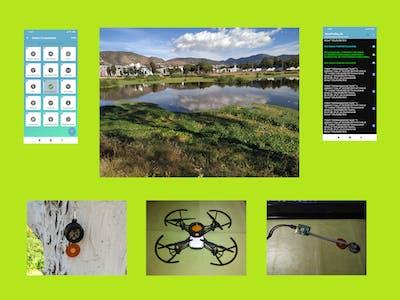 Protected Area Monitor: RSL10 Sense + Mini Drone