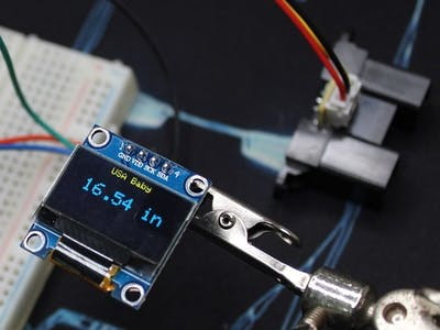 Measure Distance Using Sharp IR Proximity Sensor