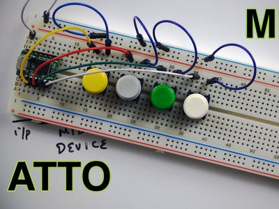 Controlling Ableton Live Using Atto or an Arduino Leonardo