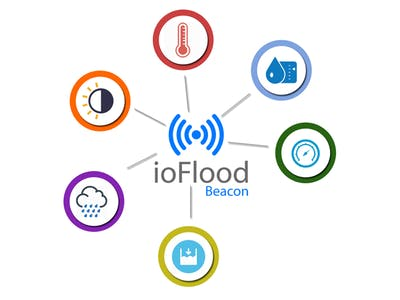 Flood water disaster warning system