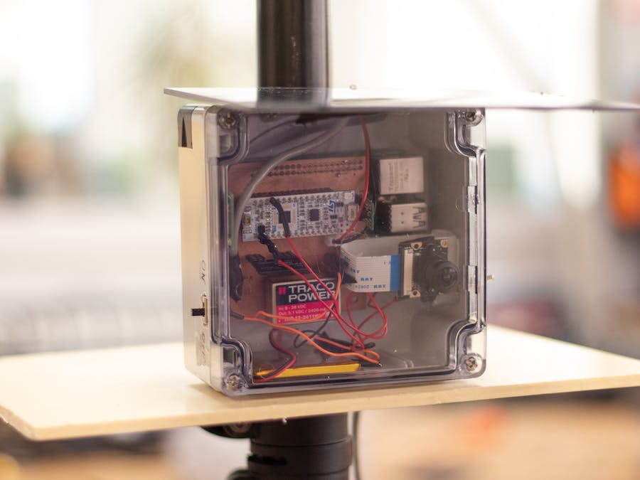 Embedded System to Detect Wildfire