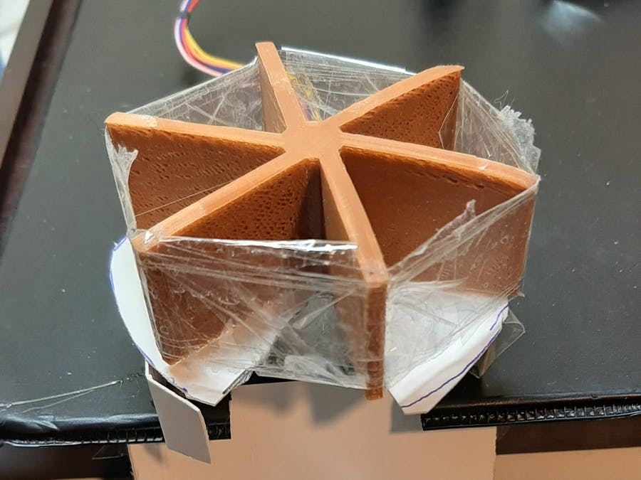 Candy Dispenser with 3D Print & Stepper Motor