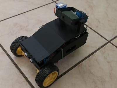 Pluto Bluetooth RC Car