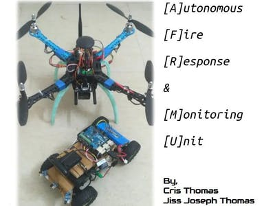 Autonomous Fire Response and Monitoring Unit