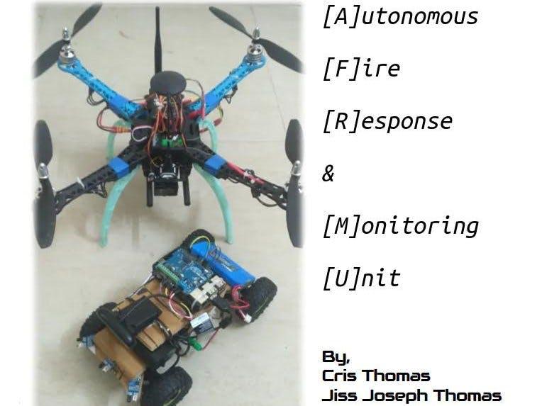 Autonomous Fire Response and Monitoring Unit