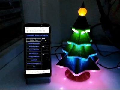 Embedded NeoPixel LED Christmas Tree