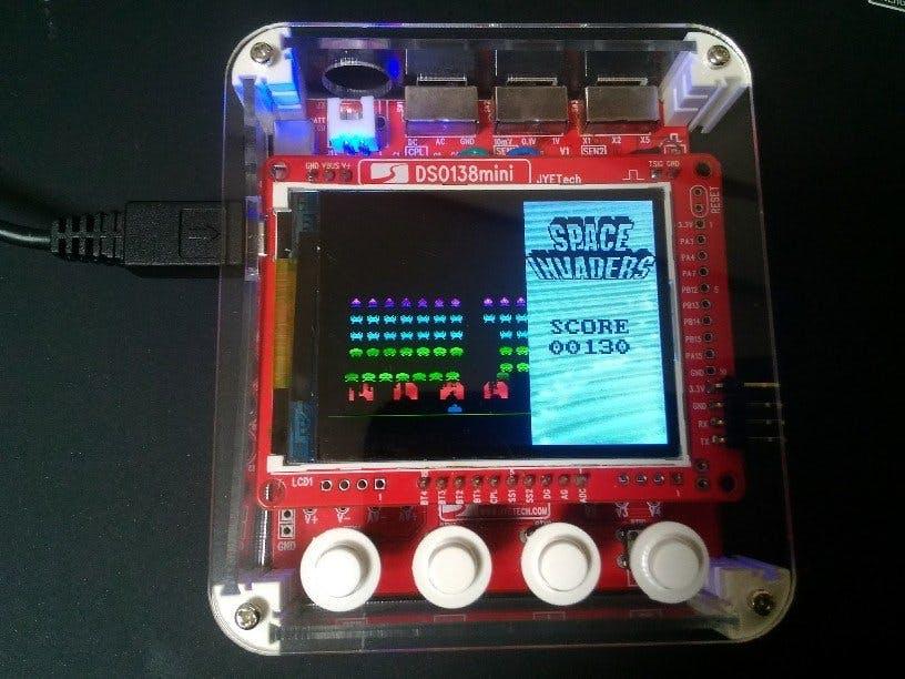 DSO138mini(DIY OscilloScope Kit) Game Console