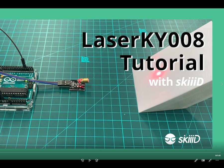 How to Use LaserKY008 with skiiiD