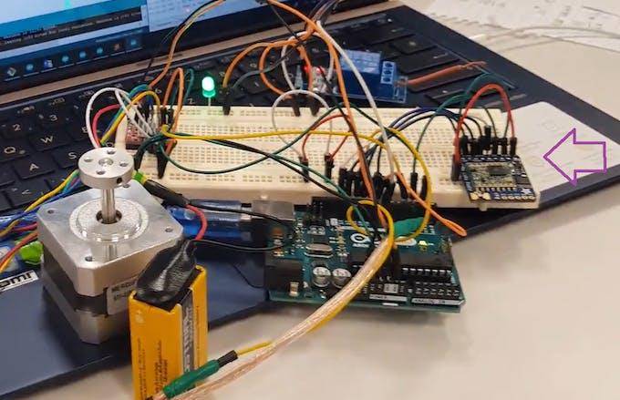 Arduino Uno with the LoRa module