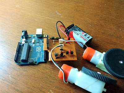 DIY H-Bridge motor driver