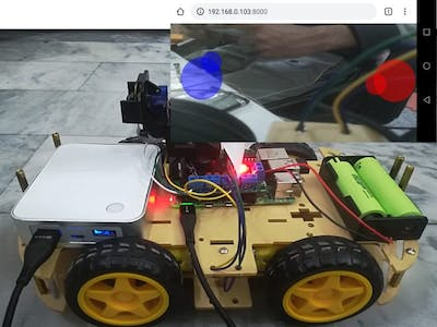 Wireless Video Surveillance Robot using Raspberry Pi