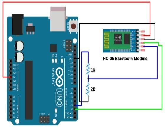 HC-05 Circuit