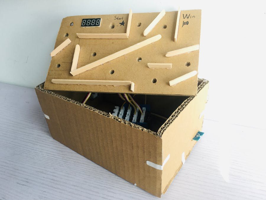 Balance maze with Arduino Uno