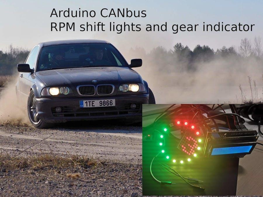 Simple Rally/Racing Dashboard