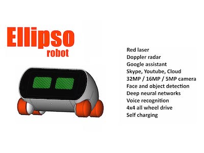 Ellipso home robot