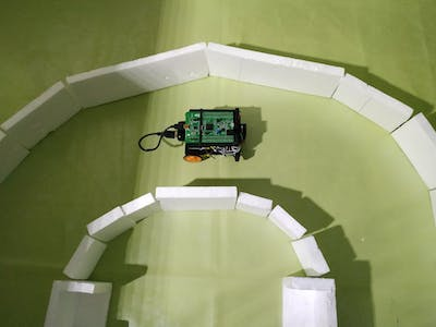 Ada Robot Car With PID Controller