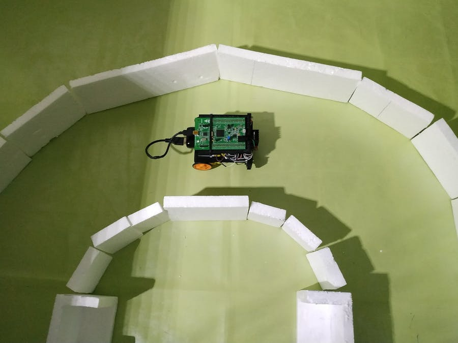 Ada Robot Car With PID Controller