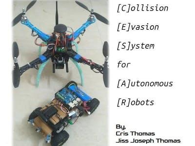 Collision Evasion System for Autonomous Robots