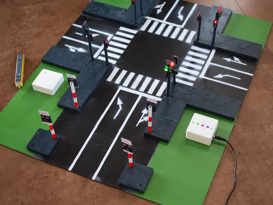 Intersection with Traffic Lights