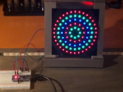 NeoPixel Multiple Ring Animation