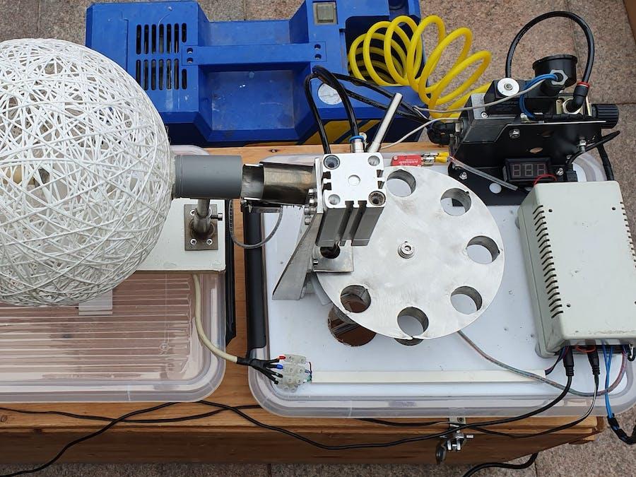The NASSAU Pitting Machine