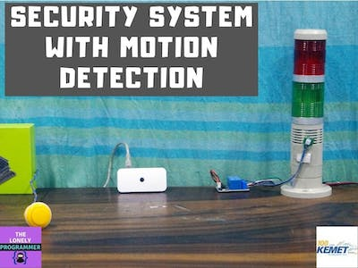 Security System with Motion Detection