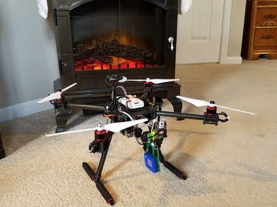 Multi-purpose Fire Fighting Drone