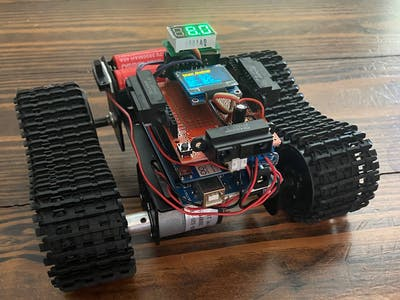 Autonomous Arduino Mega Track Robot
