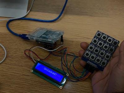 Riddle Keypad Project (TEJ3M Summative)