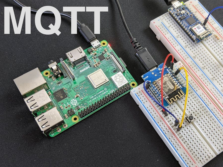 MQTT Communication With the Nano 33 IoT & WeMos D1 Boards