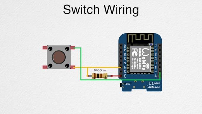 WeMos D1 Mini Wiring