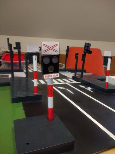 Railway crossing finished